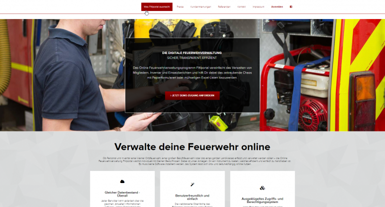 FWportal.de - alte Website